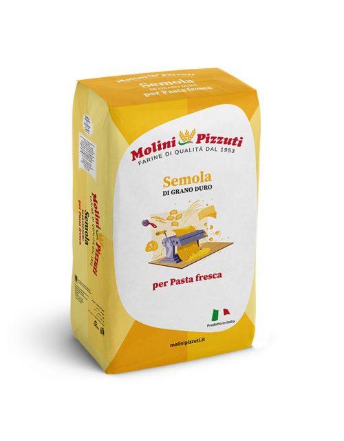 MOLINI PIZZUTI Durum wheat semolina for fresh pasta 10 kg